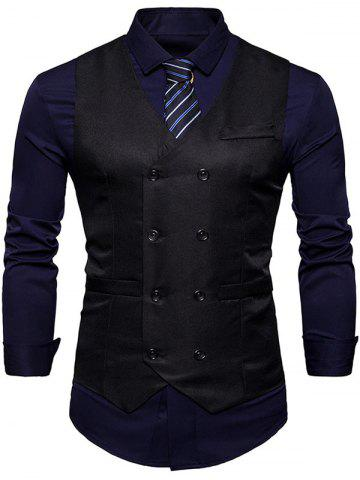 New Slim Fit Double Breasted Waistcoat