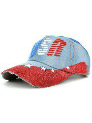 Unique Star Pattern Hand Drawing Baseball Hat -