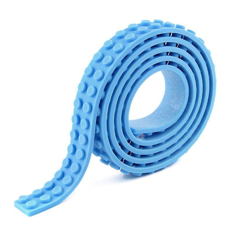 Best Puzzle Toys Silicone Building Blocks Tape