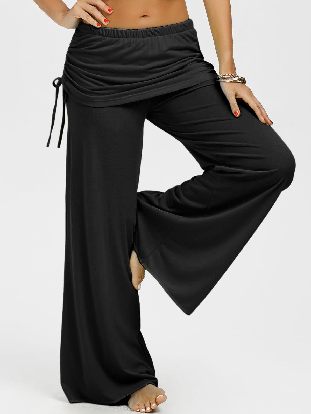 Shop Skirted Wide Leg Pants