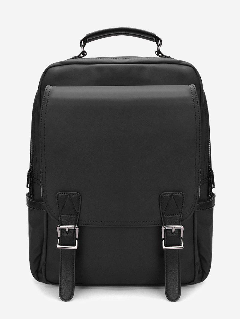 Hot Multipurpose Double Buckles Laptop Backpack
