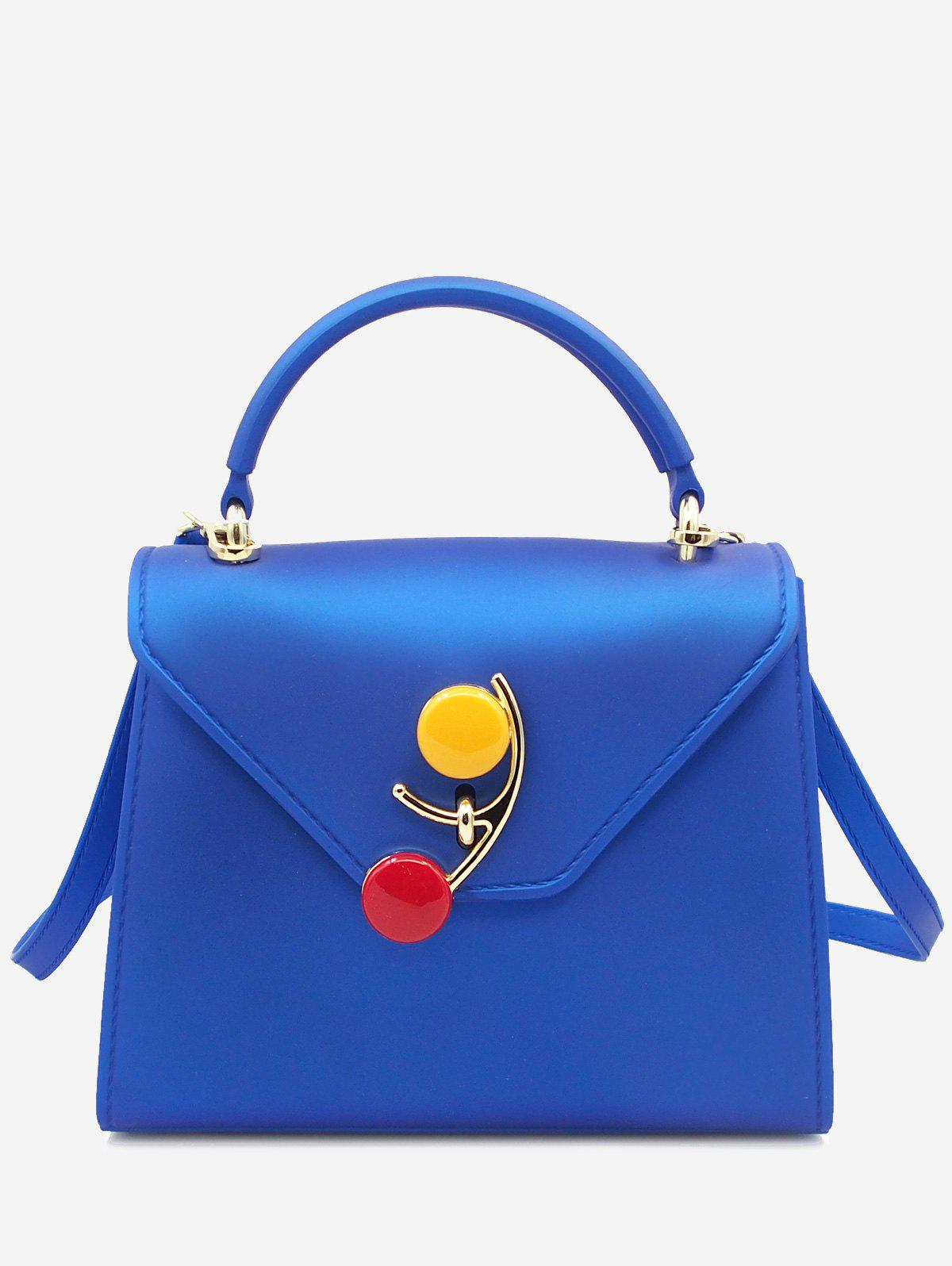 Sale Flap Color Block Handbag