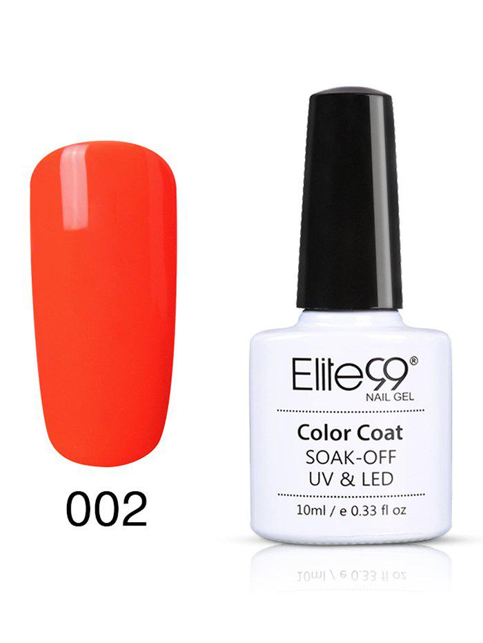 10 ml UV LED Vernis à Ongle Gel à Faire Tremper Série Orange