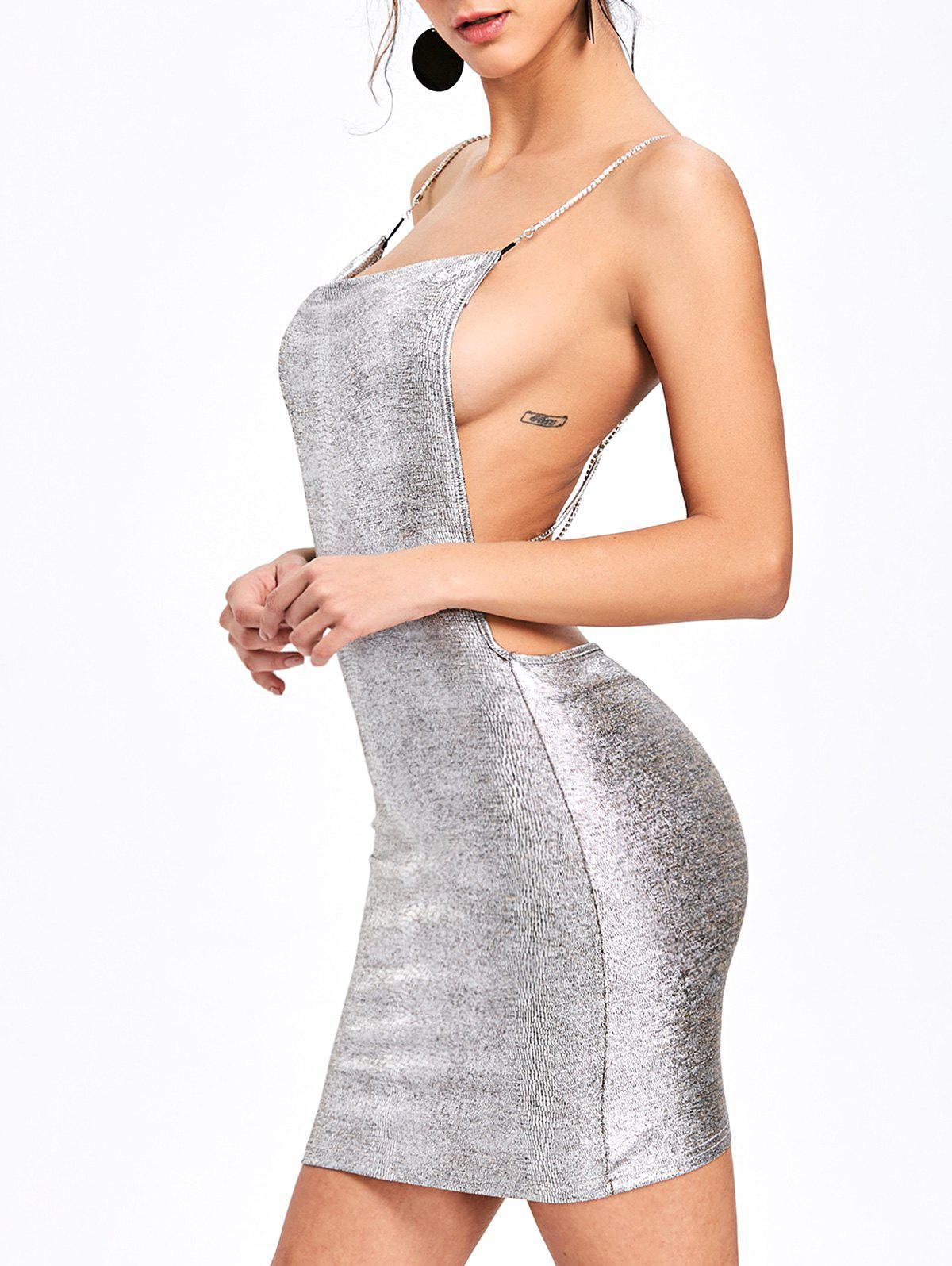 Buy Criss Cross Open Back Slip Dress