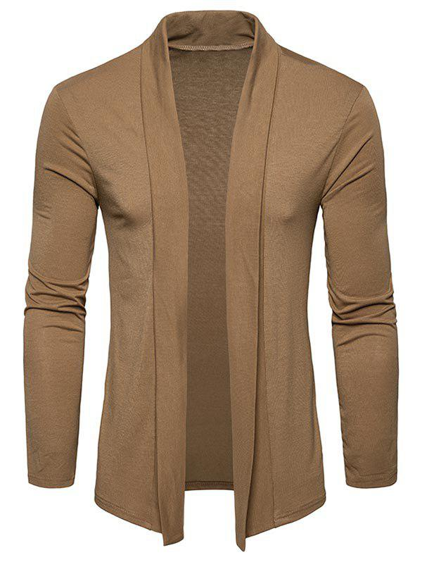 Best Shawl Collar Open Front Cardigan