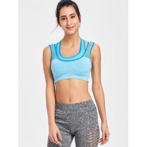 Sports Racerback  Cutout Bra -