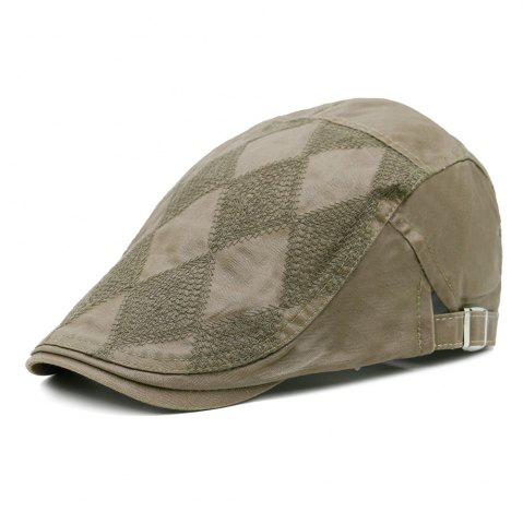 Shops Vintage Rhombus Pattern Adjustable Newsboy Cap