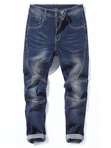 Cheap Zip Fly Tapered Fit Jeans