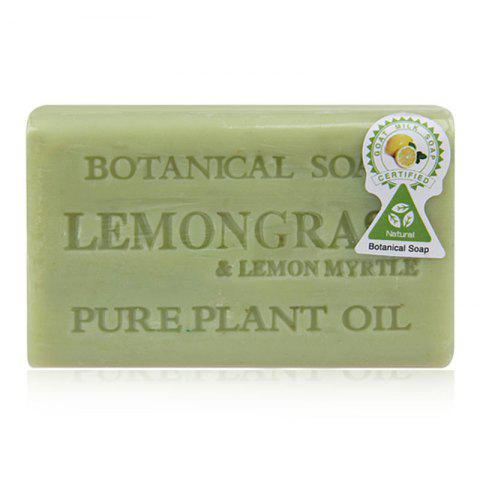 Store Handmade Lemon Skin Clean Botanical Soap Bar