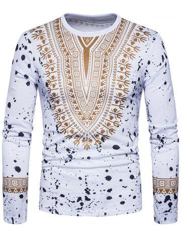 Store Long Sleeve Dashiki T-shirt