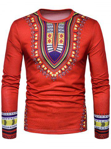 Buy National Dashiki Printed T-shirt