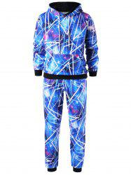 Sweat à capuche Galaxy avec pantalon Jogger -