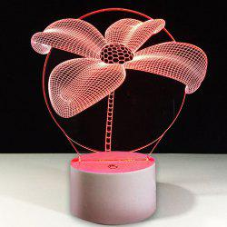 Couleurs changeantes Floraison Fleur Modèle LED Night Light -