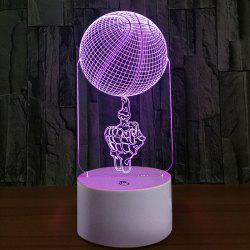 3D Vision Finger BasketBall Color Changing Night Light -
