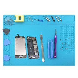Heat Insulation Silicone Phone Repair Kit Mat -