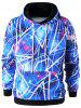 Galaxy Drawstring Hoodie with Jogger Pants -