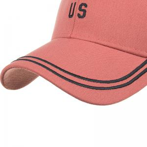 Unique US Pattern Embroidery Adjustable Baseball Hat -