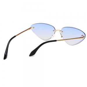 Anti Fatigue Frameless Cat Eye Sunglasses -