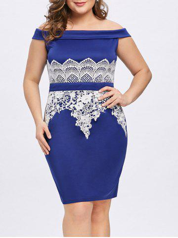 Online Plus Size Foldover Off The Shoulder Dress