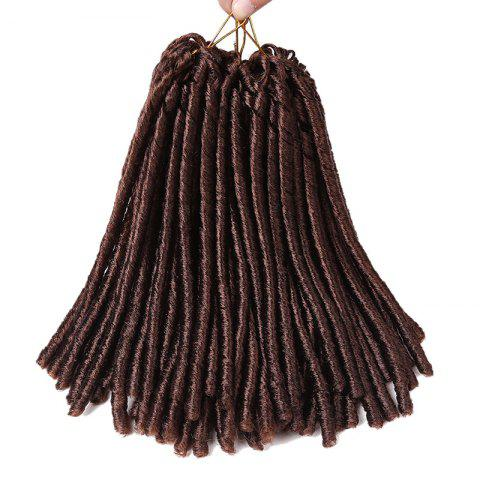 Shop Dreadlocks Crochet Braids Short Synthetic Hair Extension