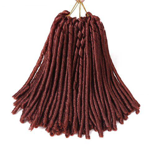Online Dreadlocks Crochet Braids Short Synthetic Hair Extension