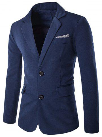 Outfits Color Block Single Breasted Blazer