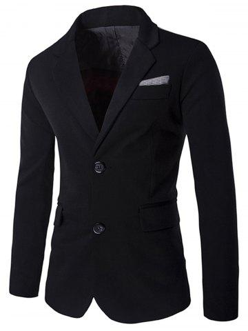 Online Color Block Single Breasted Blazer
