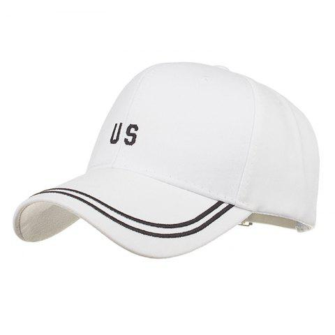 Chic Unique US Pattern Embroidery Adjustable Baseball Hat