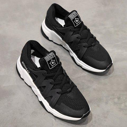 Discount Breathable Color Block Sneakers
