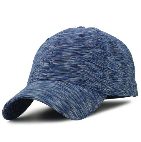 Fashion Unique Color Splice Pattern Magic Stickers Baseball Cap