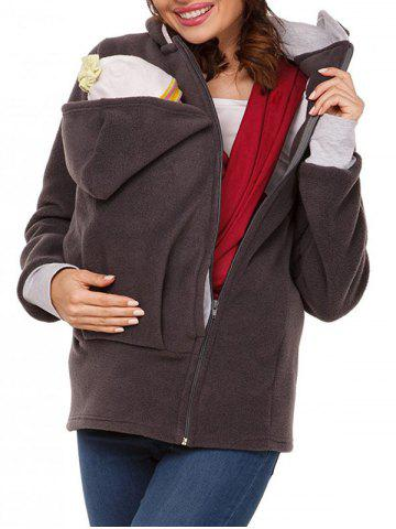 Hot Zip Up Baby Carrier Hoodie