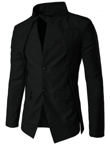 Chic Slim Fit Single Breasted Blazer