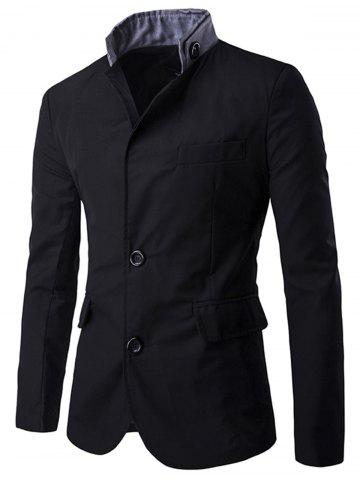 Hot Casual Stand Collar Single Breasted Blazer