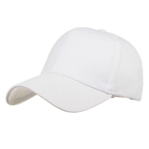Chic Simple Line Embroidery Adjustable Sunscreen Hat