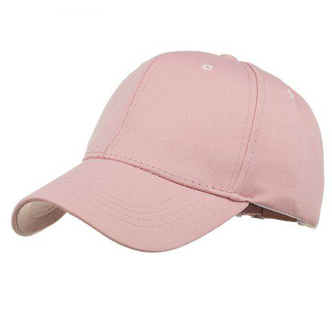 Discount Simple Line Embroidery Adjustable Sunscreen Hat