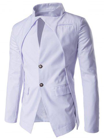 Discount Slim Fit Single Breasted Blazer