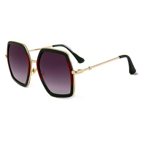 Fashion Anti-fatigue Full Frame Oversized Sunglasses