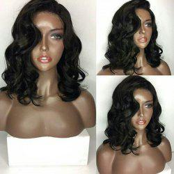 Medium Side Parting Loose Wave Lace Front Human Hair Wig -