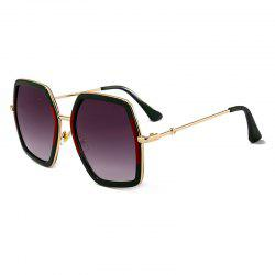 Anti-fatigue Full Frame Oversized Sunglasses -