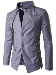 Slim Fit Single Breasted Blazer -