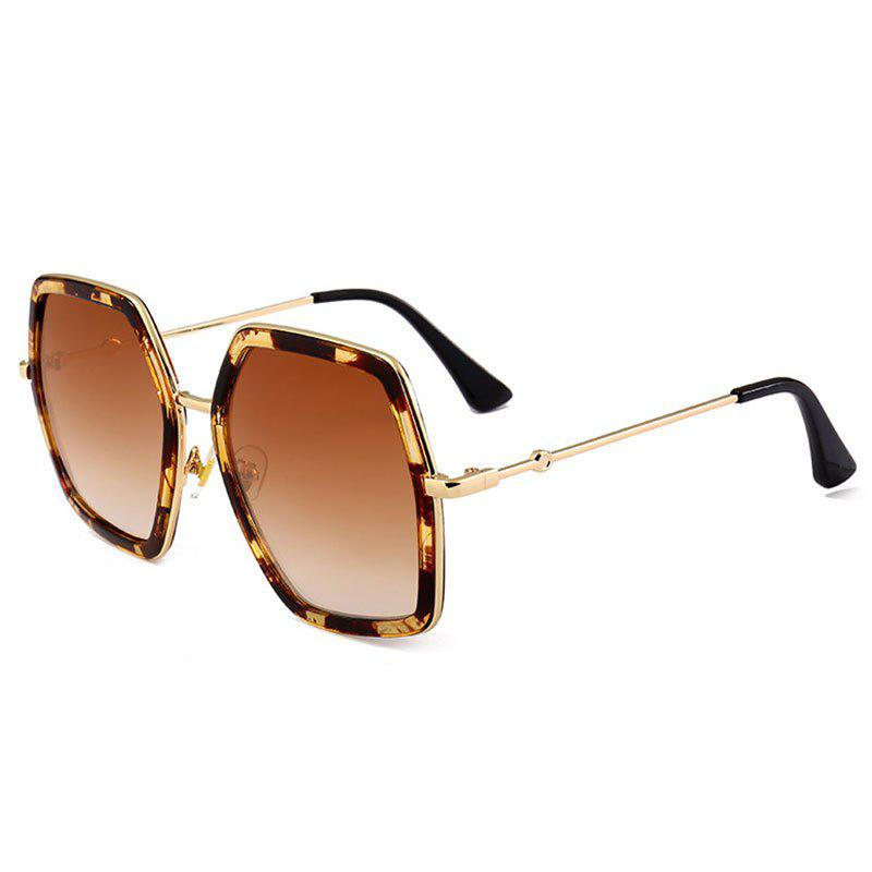 Cheap Anti-fatigue Full Frame Oversized Sunglasses