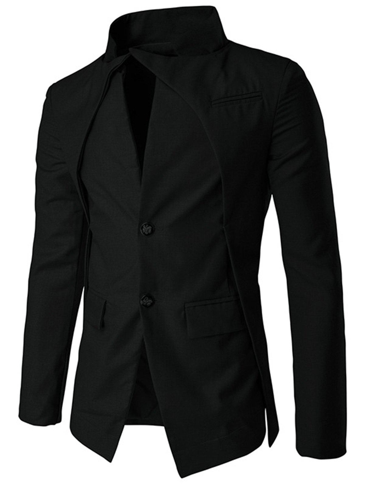 New Slim Fit Single Breasted Blazer