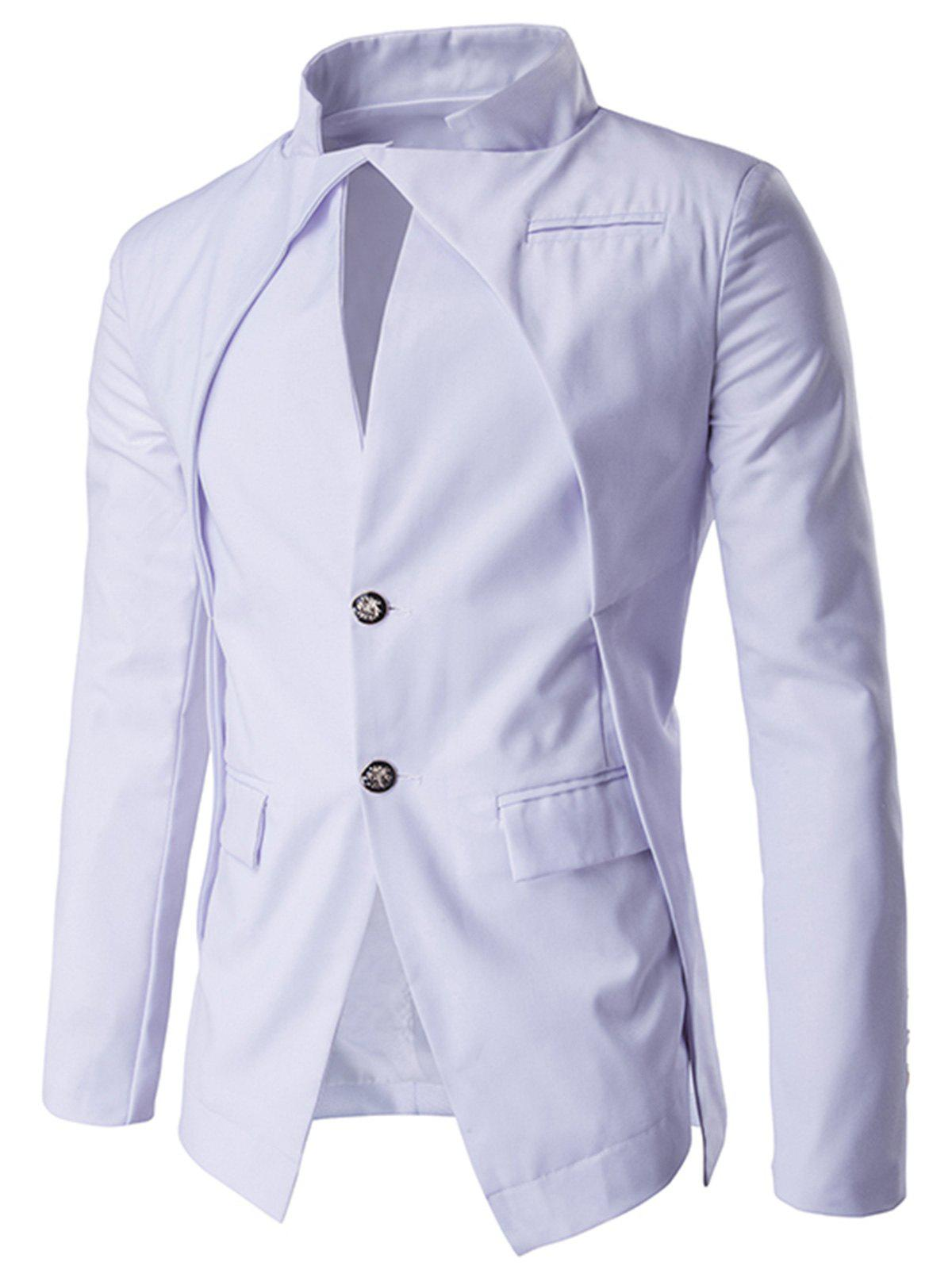 Slim Fit Single Breasted Blazer
