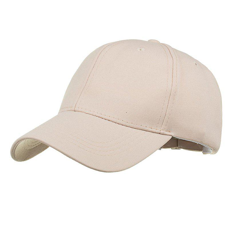Outfits Simple Line Embroidery Adjustable Sunscreen Hat