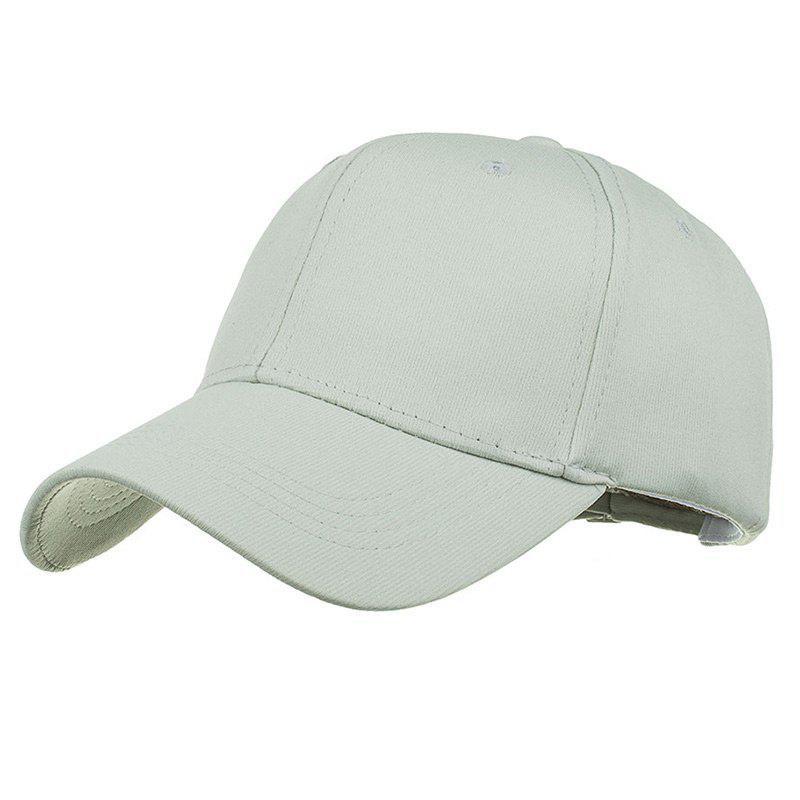 Fashion Simple Line Embroidery Adjustable Sunscreen Hat
