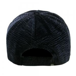 Unique Solid Color Striped Pattern Baseball Hat -