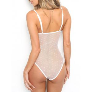 See Through Lace Bodysuit -