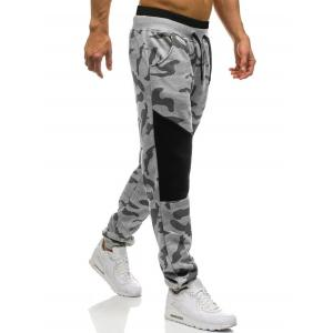 Камуфляж Drawstring Jogger Sweatpants -