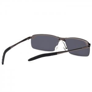 Vintage Rectangular Shaped Frameless Sunglasses -