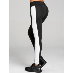Stretchy Two Tone Workout Leggings -